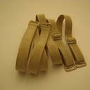Bra straps, flesh-colored 1.2 cm