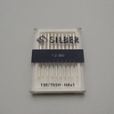 Sewing machine needles 130-705 H SILBER No.80