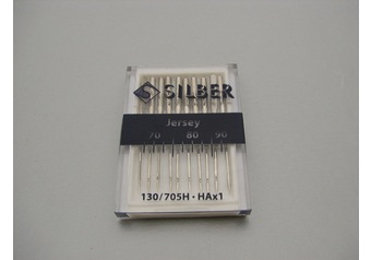 Sewing machine needles 130-705 H SILBER Jersey