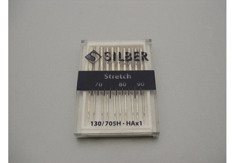 Sewing machine needles 130-705 H SILBER Stretch