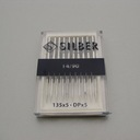 Sewing machine needles 135 x 5 SILBER No.90