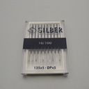Sewing machine needles 135 x 5 SILBER No.100