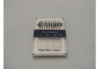 Sewing machine needles 130-705 H SILBER Assortment