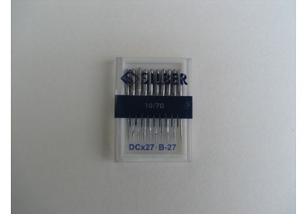 Sewing machine needles B 27 SILBER No.70