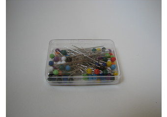Plastic head pins 38mm